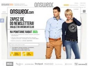 Strona answear.com