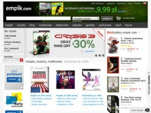 Strona empik.com